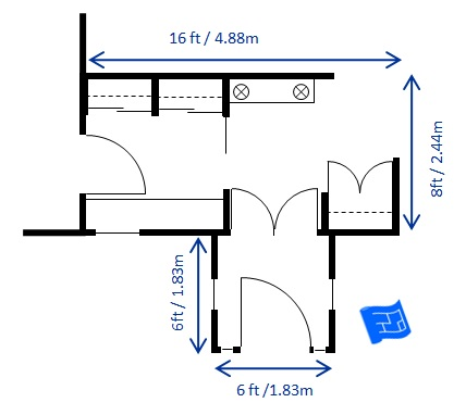 Foyer design for House plans with foyer entrance