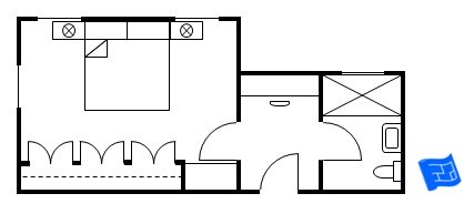master bedroom floor plan vestibule entry 1