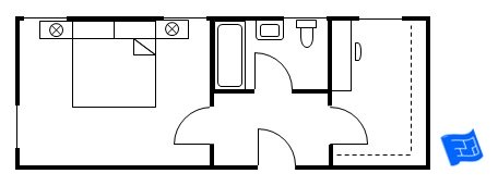 master bedroom floor plan vestibule entry 6