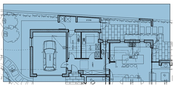 Click and drag to snapshot a pdf floor plan