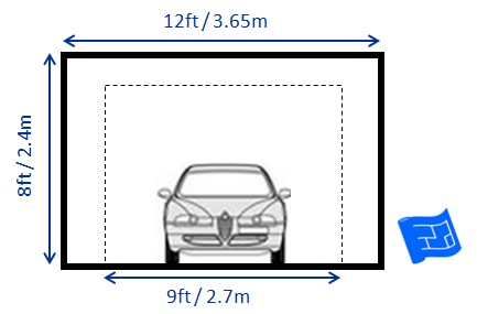 Garage dimensions for How tall is a standard garage door