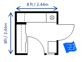 8ft x 8ft foyer design