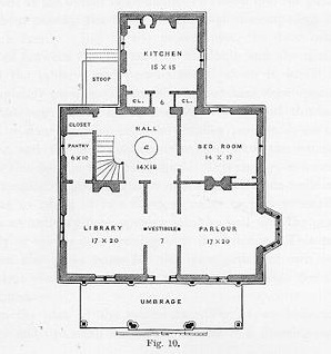 Country Stye House Floor Plan