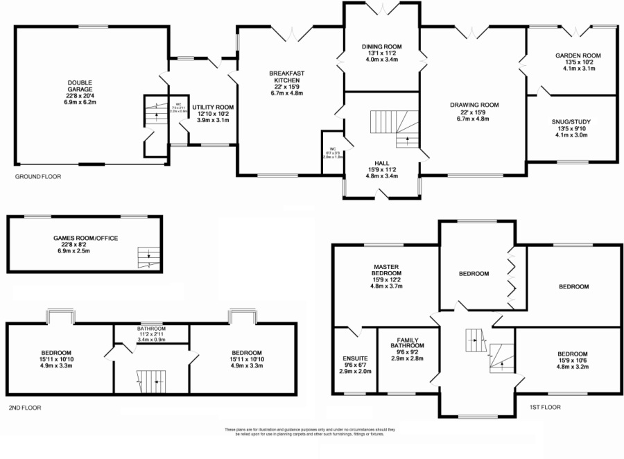 Floor Plans For Long Narrow Houses