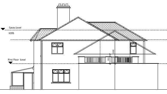 architectural floor plans raised garage roof
