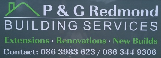 building contractor services sign