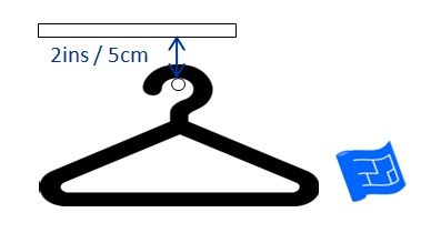 walk in closet dimensions rod clearance