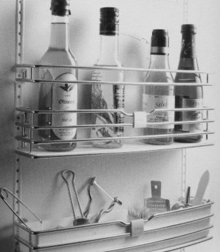 Cupboard Door Storage
