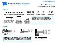 More House Plans Symbols Floor Plan