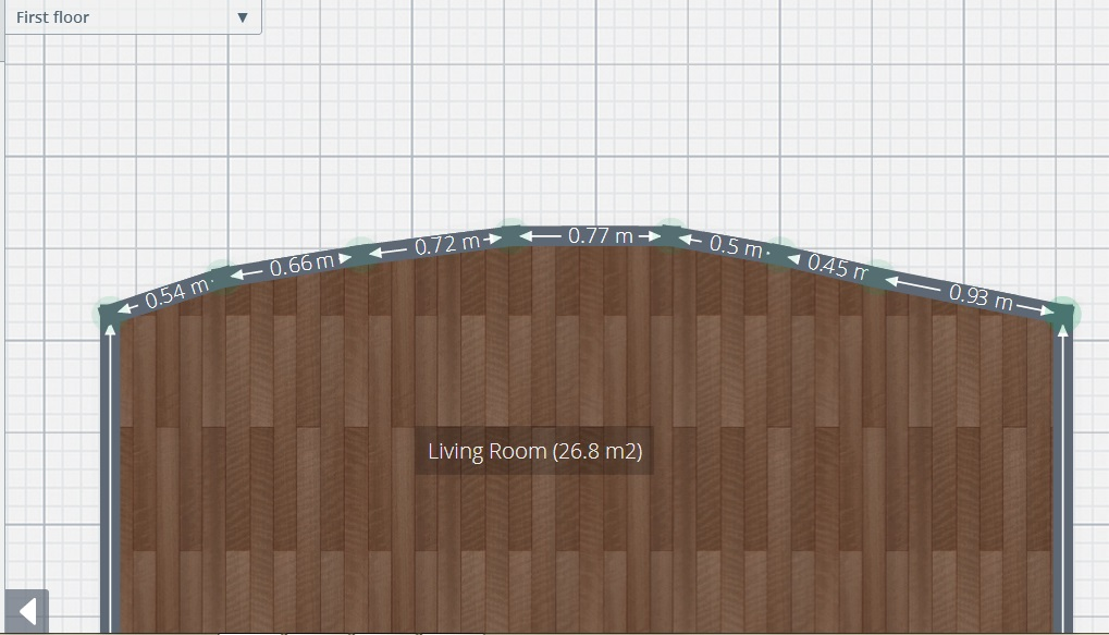 planner 5d review curved wall