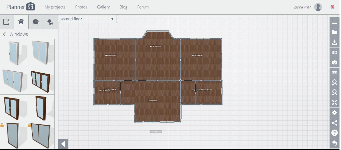 planner 5d review first floor floor plan