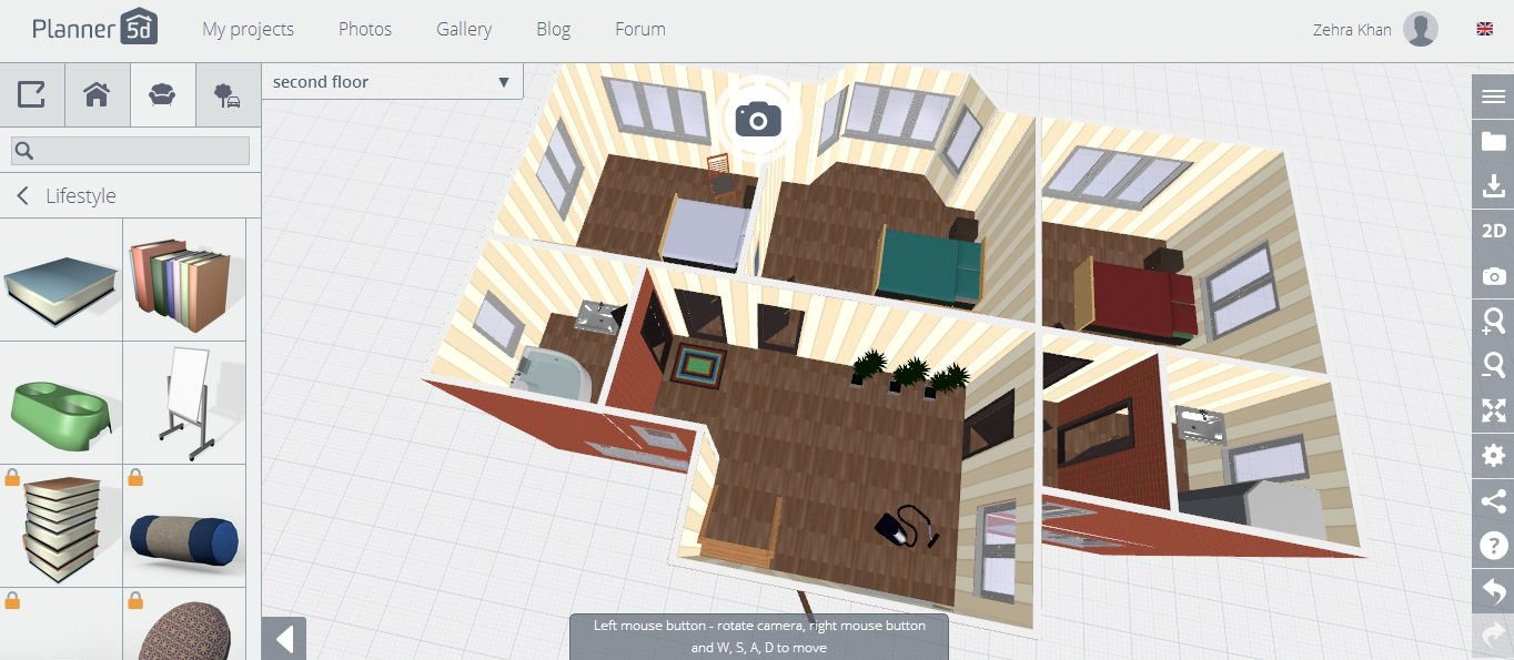 planner 5d review first floor 3d - Floor Plan Planner