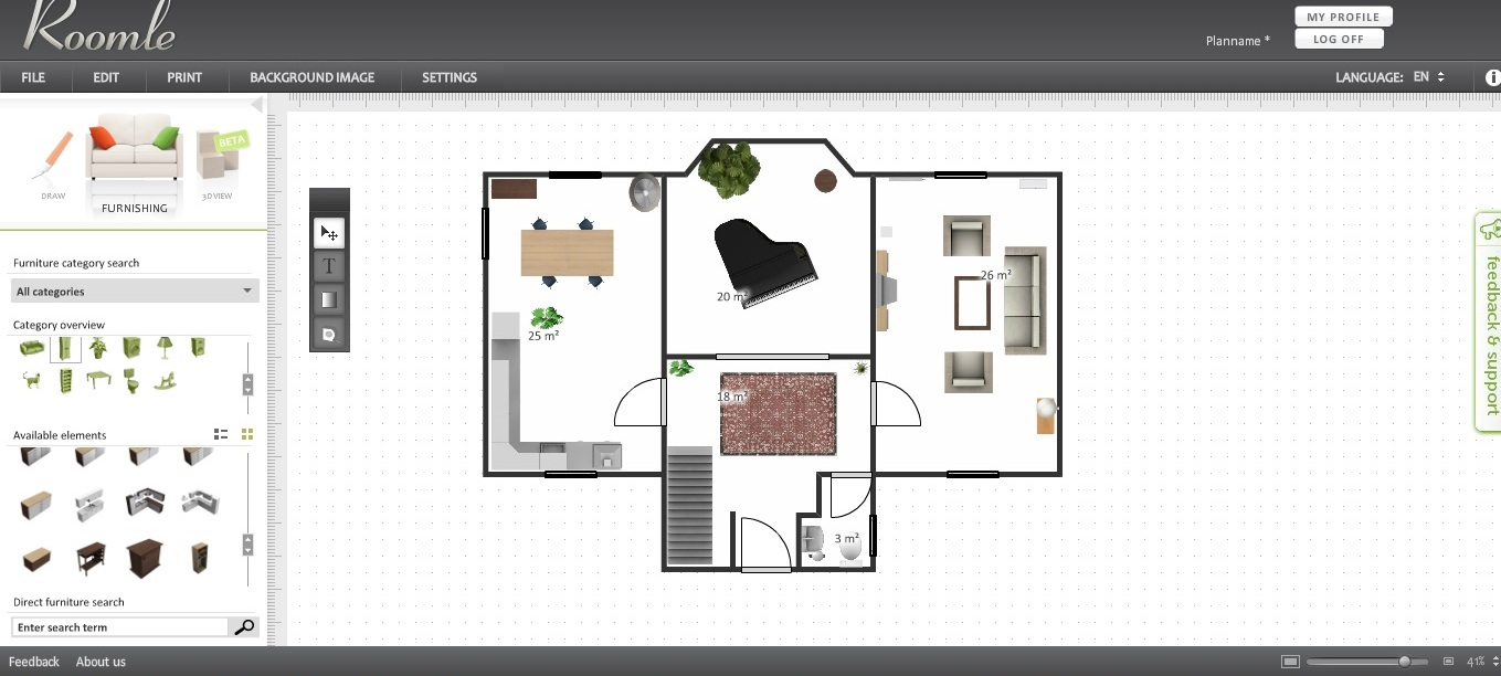 Free Floor Plan Software - Roomle Review
