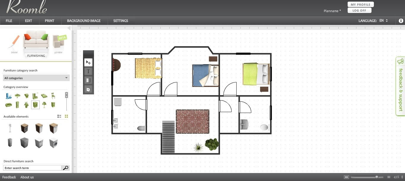 Free floor plan software roomle review Free plan drawing program