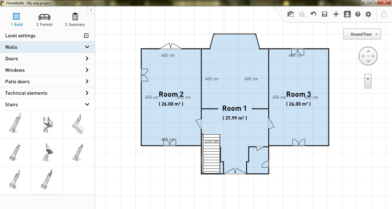 Free 2d floor plan software gurus floor for Free online floor plan software