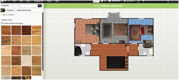 Free Floor Plan Software Upstairs Furnished