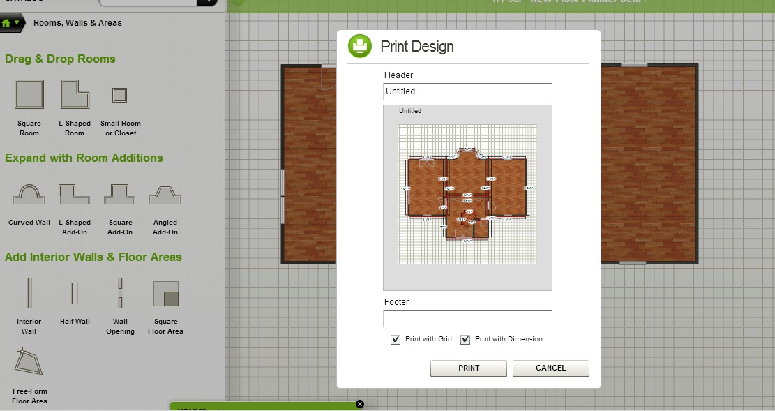 Free Floor Plant Software Homestyler Print