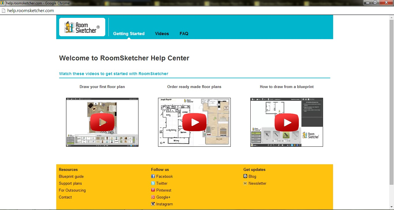 Free Floor Plan Software RoomSketcher Support