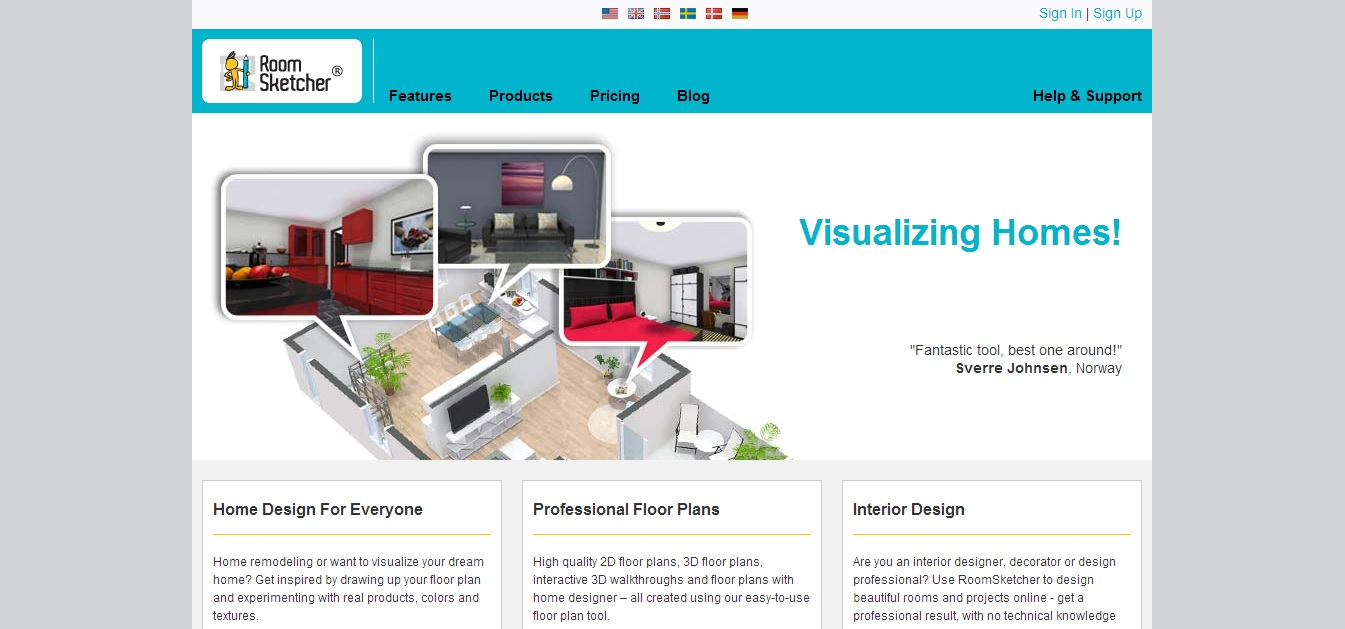 Free Floor Plan Software RoomSketcher Home Page