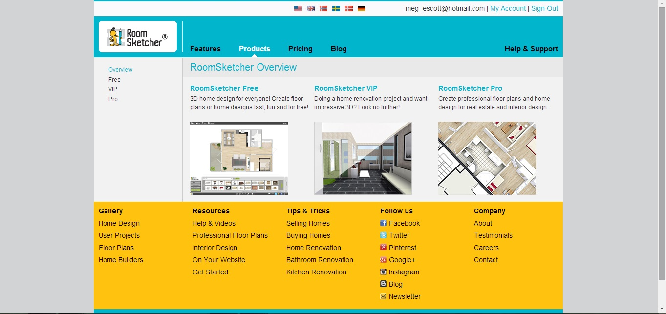 Free floor plan software roomsketcher review for Free online floor plan software
