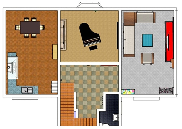 Free floor plan software apartment free floor plan for Free online floor plan software