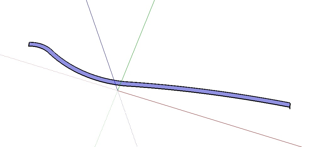 Making curved walls in Sketchup