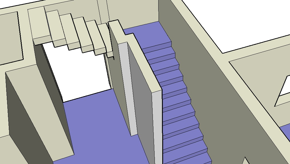 Making stairs in Sketchup