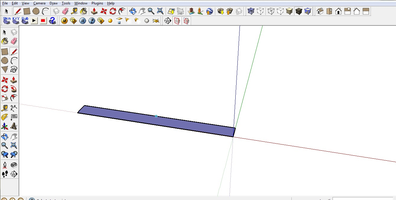 Sketchup review wall base
