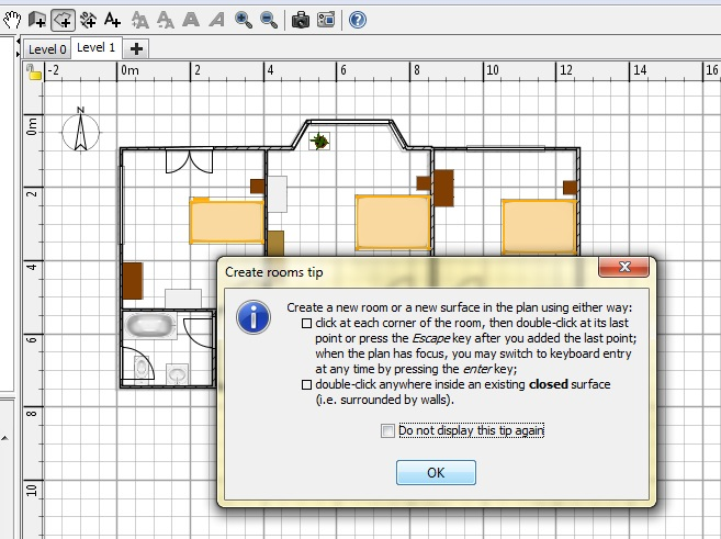 Free Floor Plan Software Sweethome3D Review Help Pop-up