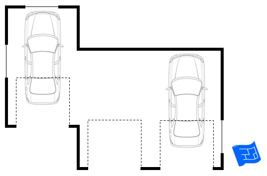 Garage floor plan Garage layout planner