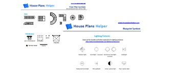 Go to floor plan symbols
