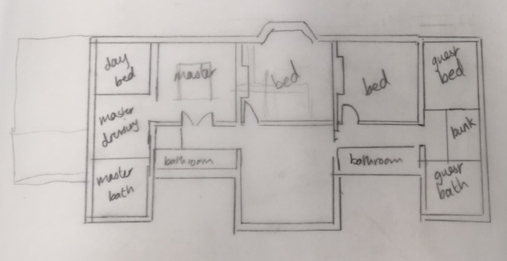 house plan ideas build on top of garage first floor