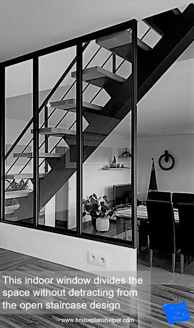 indoor windows staircase full height