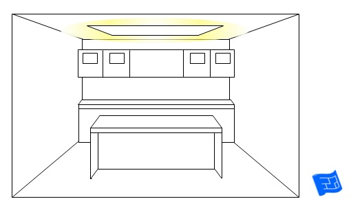 kitchen lighting ideas dropped ceiling over kitchen island