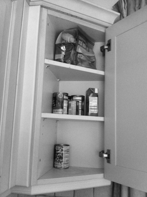kitchen storage diagonal corner cupboard