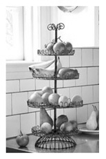 kitchen storage ideas counter top fruit storage - Kitchen Countertop Storage Ideas