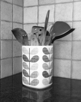 kitchen storage ideas utensil pot