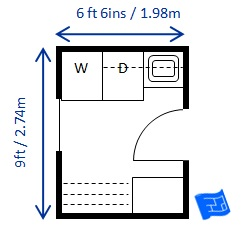 Small Laundry Room Dimensions