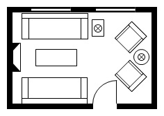 Kitchen design layout for Kitchen design 9x7