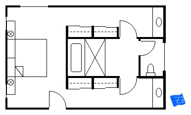 Master bedroom floor plans Master bedroom plans with bath