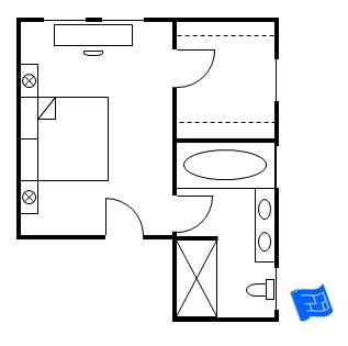 master bedroom floor plans 12276 | master bedroom floor plan bedroom entry 2