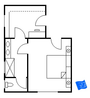 Master Bedroom Floor Plan Entry 4