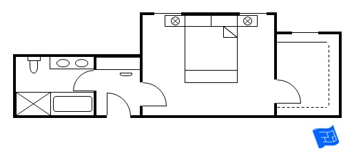 master bedroom floor plan vestibule entry 7
