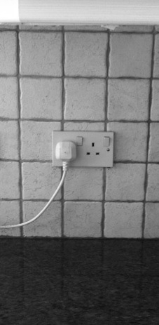 normal kitchen outlet position