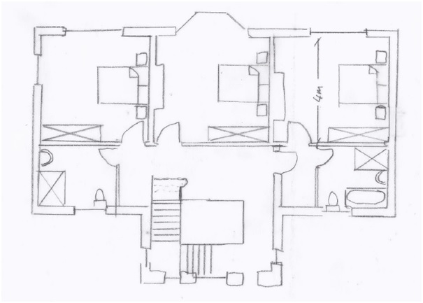 Free floor plan software free floor plan software sample house first floor malvernweather Image collections