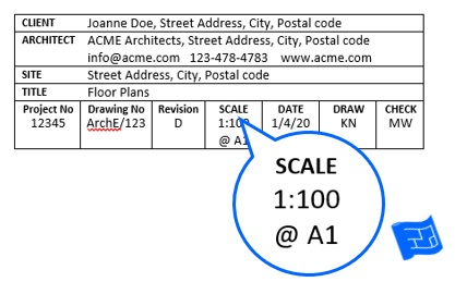 Scale For Floor Plans