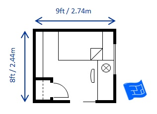 Bedroom Size For A Twin Single Bed
