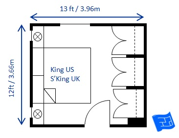 Bed Size For Guest Room