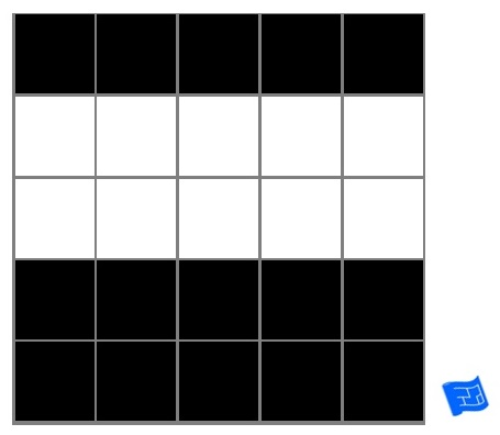 square grid tile pattern - color blocks