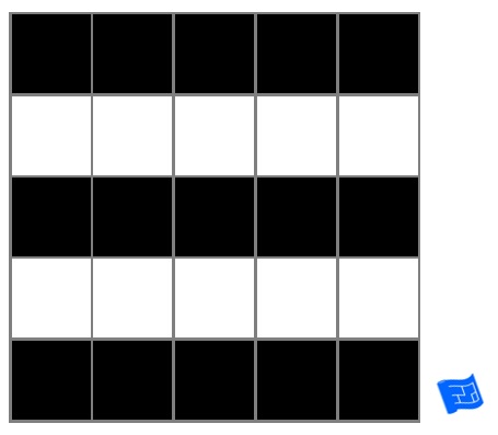 square grid tile pattern - stripe